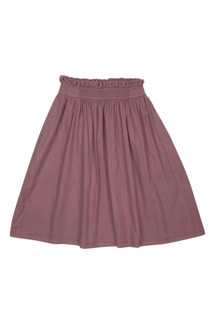 Blossom Kids Midi Skirt Dusty Violet_1