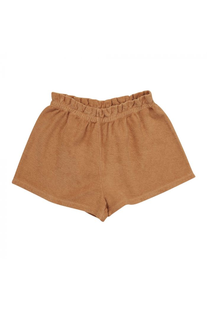 Blossom Kids Terry paperbag short Honey_1