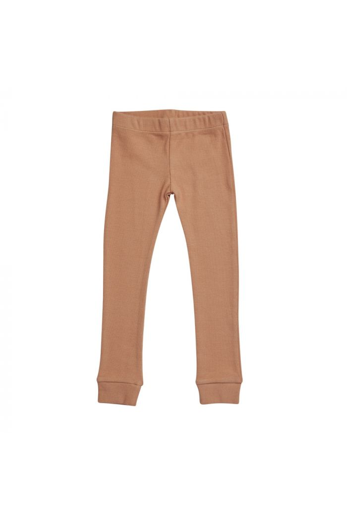 Blossom Kids Legging rib Deep Toffee_1