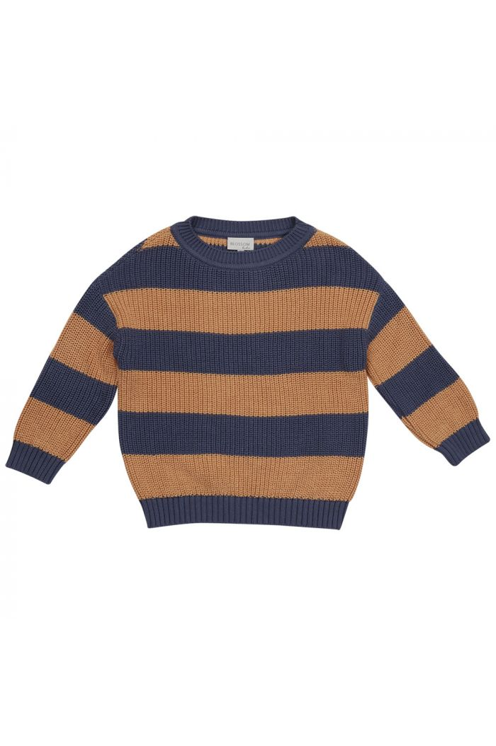 Blossom Kids Knitted jumper chuncky stripes _1