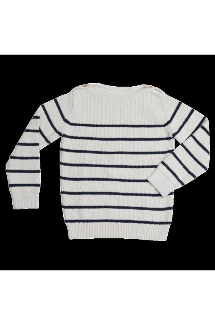 Blossom Kids Knitted Jumper Stripes Midnight Blue