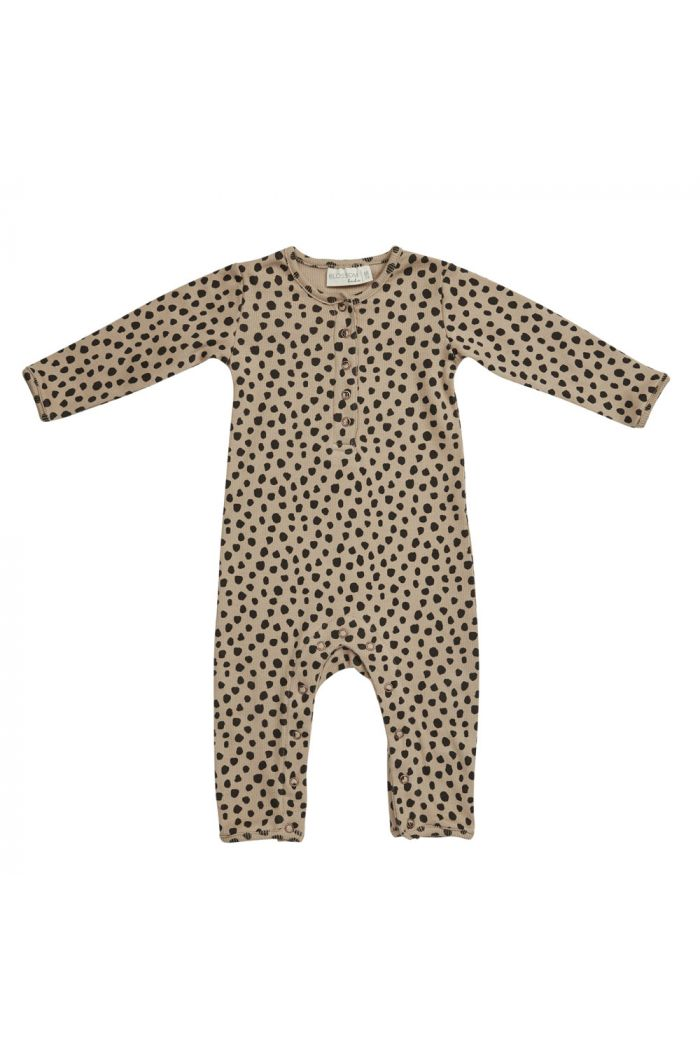 Blossom Kids Playsuit Animal Dot, Warm Sand_1