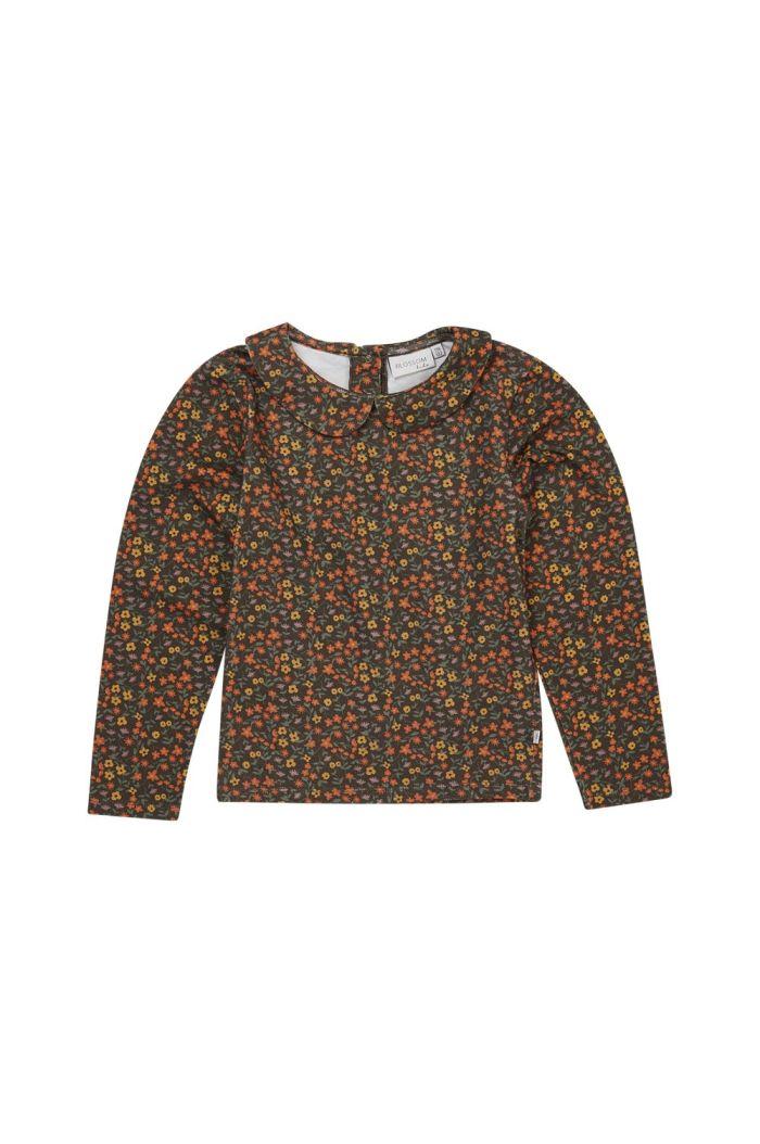 Blossom Kids Peterpan long sleeve shirt Flower Field_1