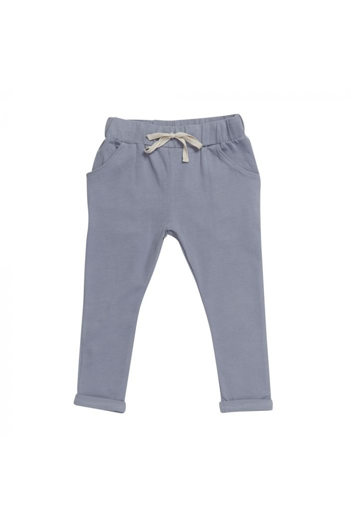 Blossom Kids Strap cord joggers Blue grey