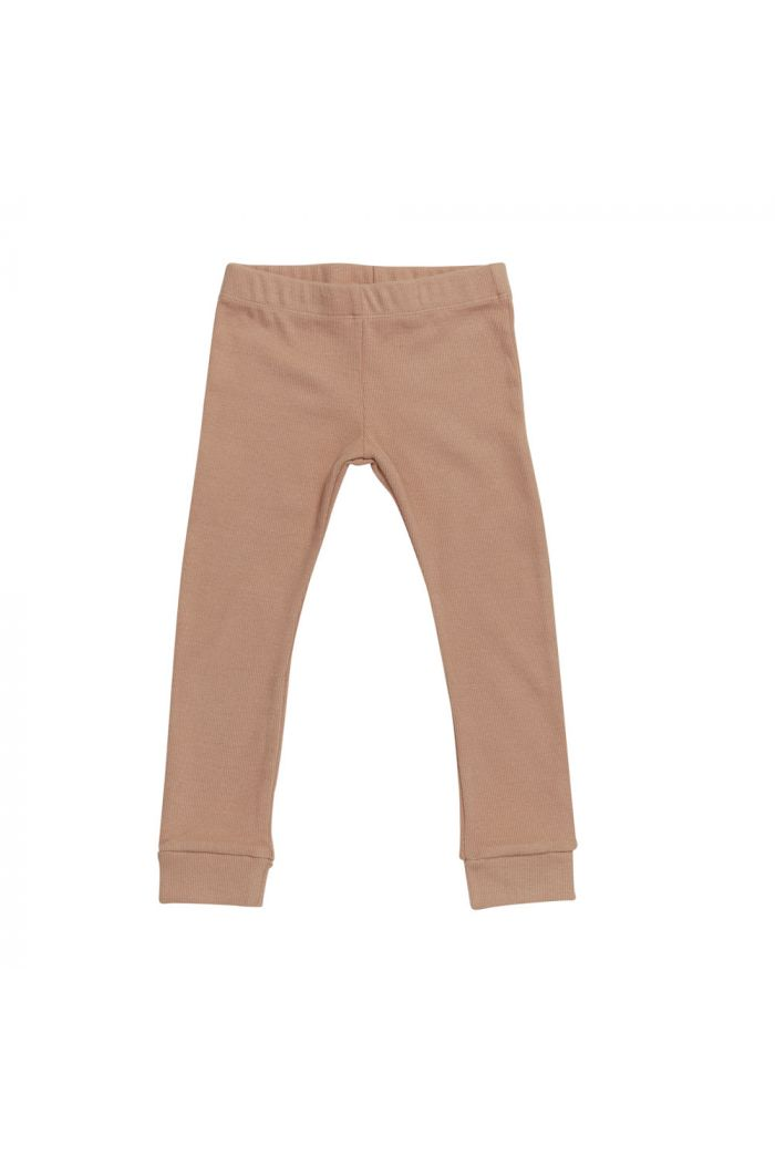 Blossom Kids Legging - soft rib Toffee Blush