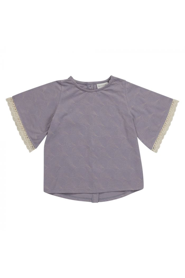 Blossom Kids Tunic short sleeves Shelves Lavender_1