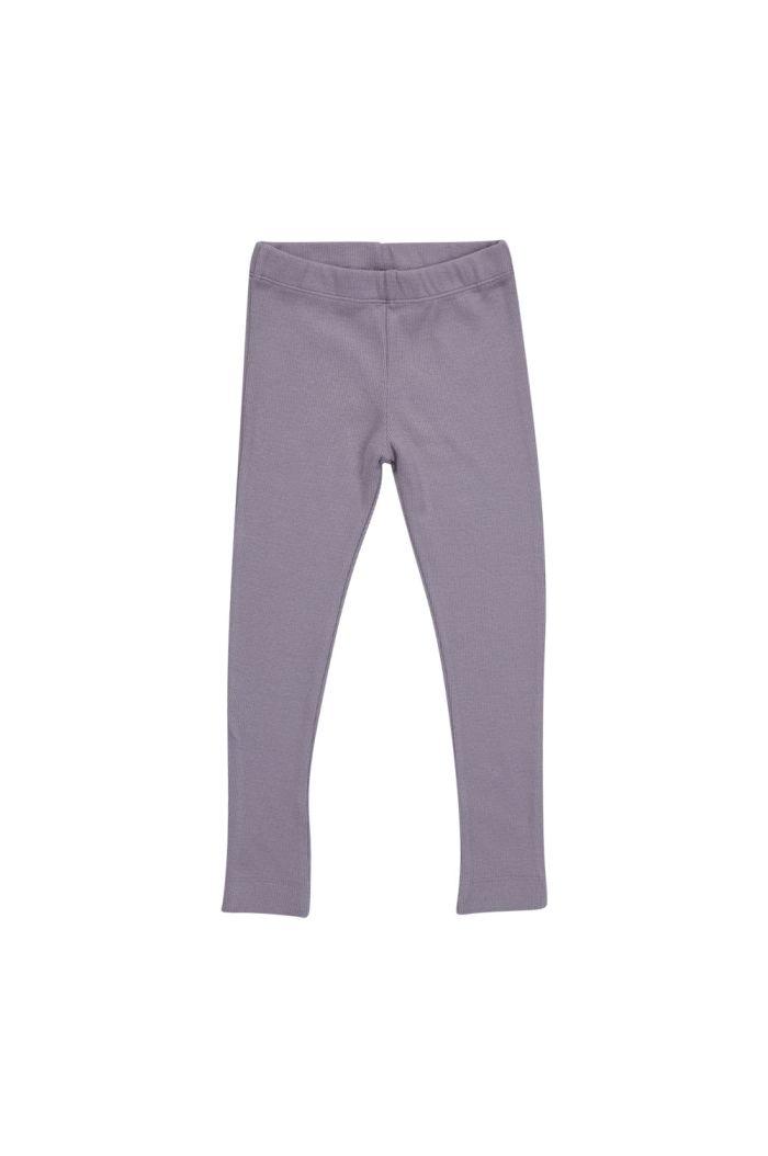Blossom Kids Legging soft rib Lavender Gray_1