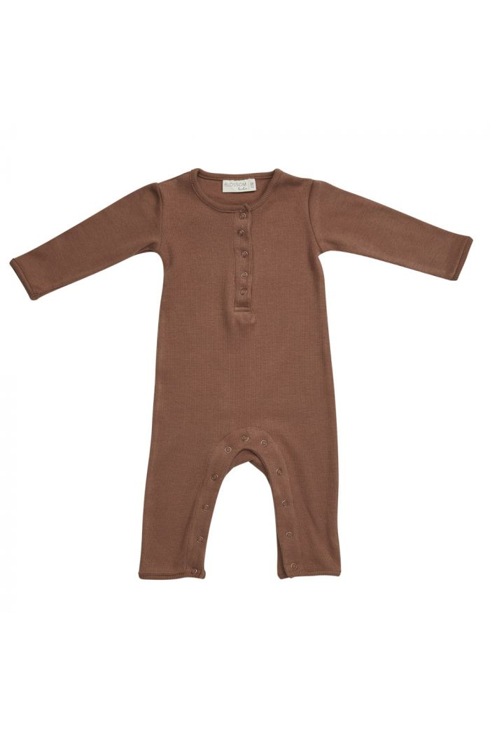 Blossom Kids Playsuit Smoked Hazelnut_1