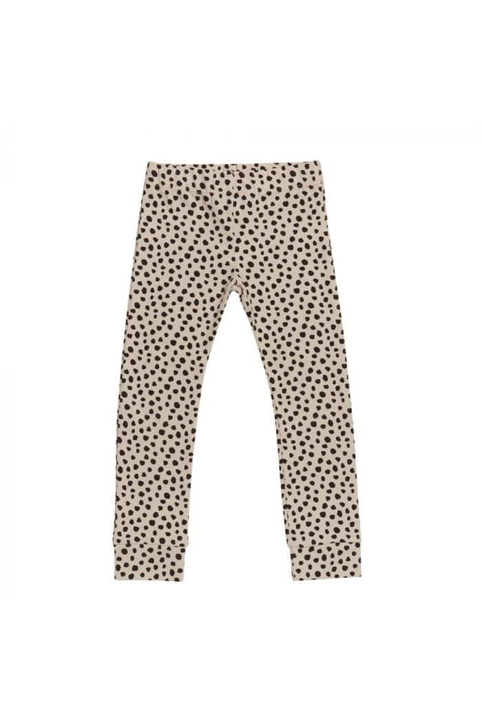 Blossom Kids Legging Animal Dot - Soft Sand