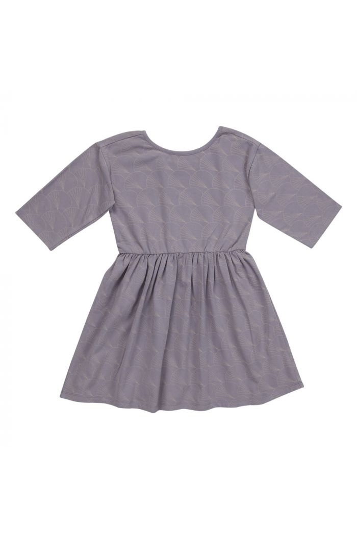 Blossom Kids Dress half sleeve Shelves Lavender Gray_1