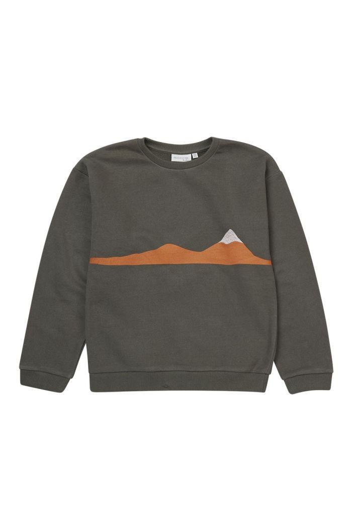 Blossom Kids Sweater Snowy Mountain_1