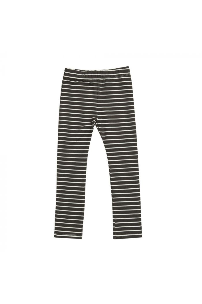 Blossom Kids Legging Petit Stripes, Espresso Black_1