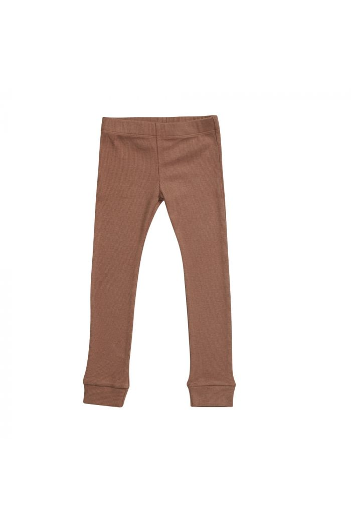 Blossom Kids Legging rib Smoked Hazelnut_1