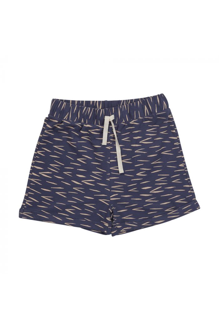 Blossom Kids Shorts Zig Zag Royal Blue_1