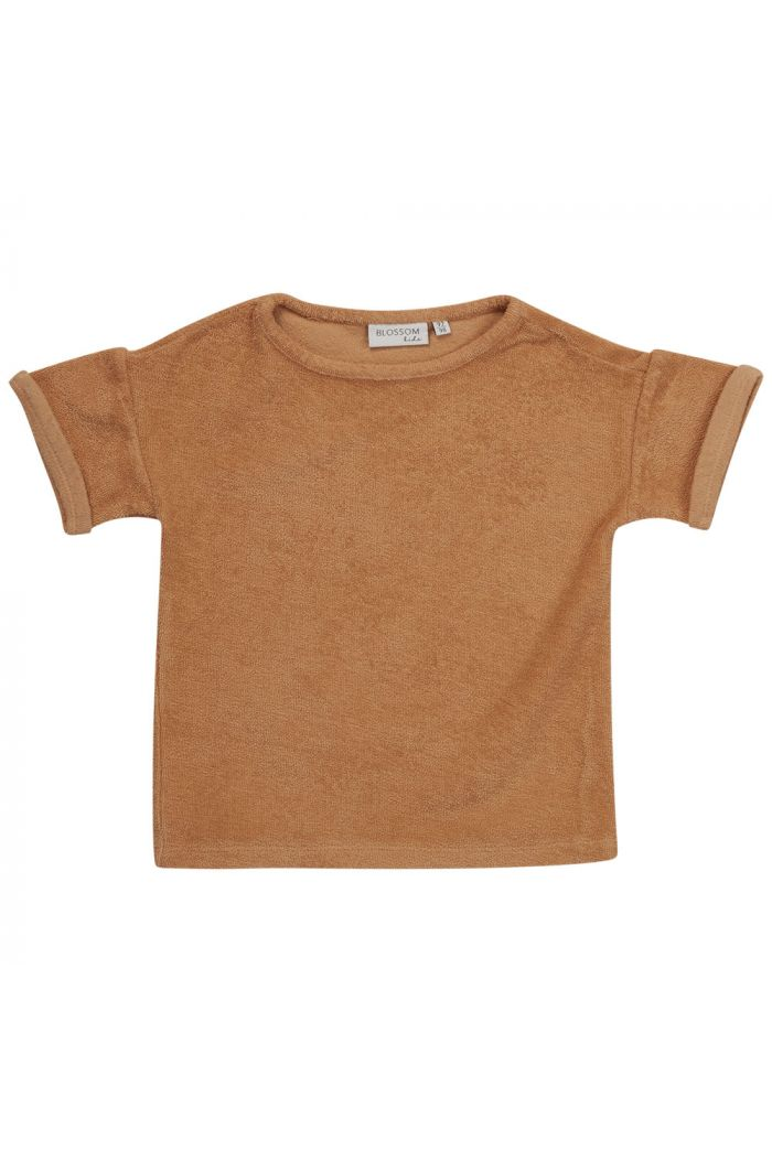 Blossom Kids Terry shirt  Honey_1