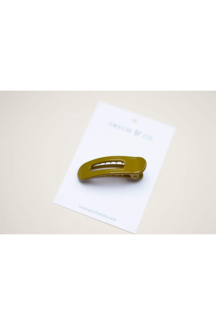 Grech & Co Grip Clip - Chartreuse (polished)