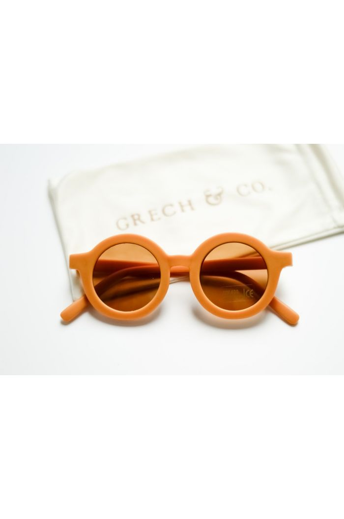 Grech & Co Sustainable Sunglasses Golden