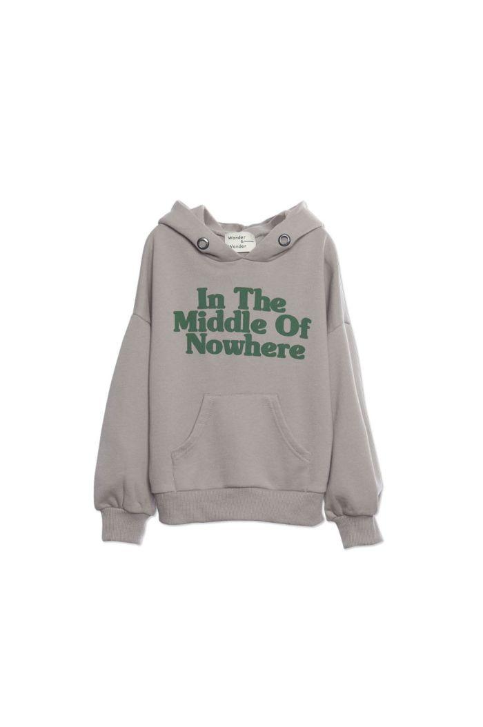 Wander &Wonder Hoodie Sweatshirt Ash_1