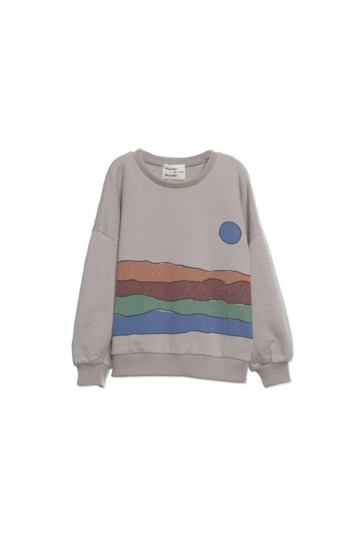 Wander &Wonder Desert Print Sweatshirt Grey_1