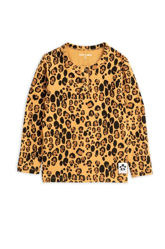 Mini Rodini Basic leopard grandpa Beige