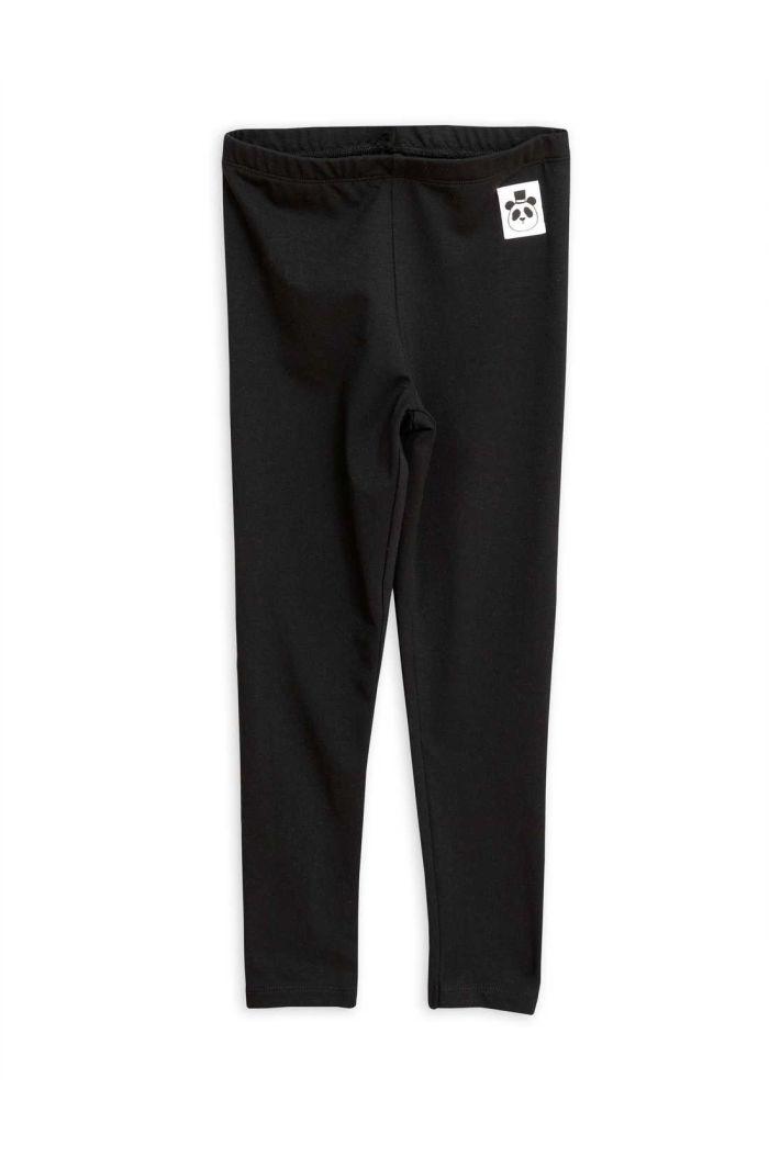 Mini Rodini Basic leggings Black_1