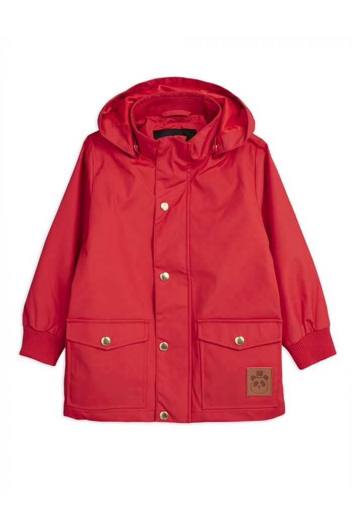 Mini Rodini Pico jacket Red_1