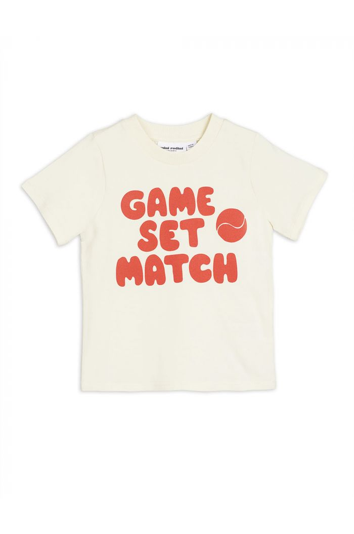Mini Rodini Game single print tee Red