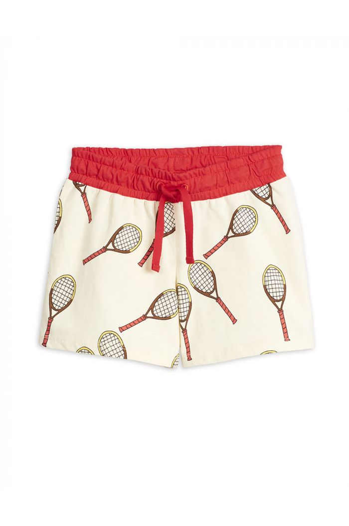Mini Rodini Tennis all-over print shorts Offwhite