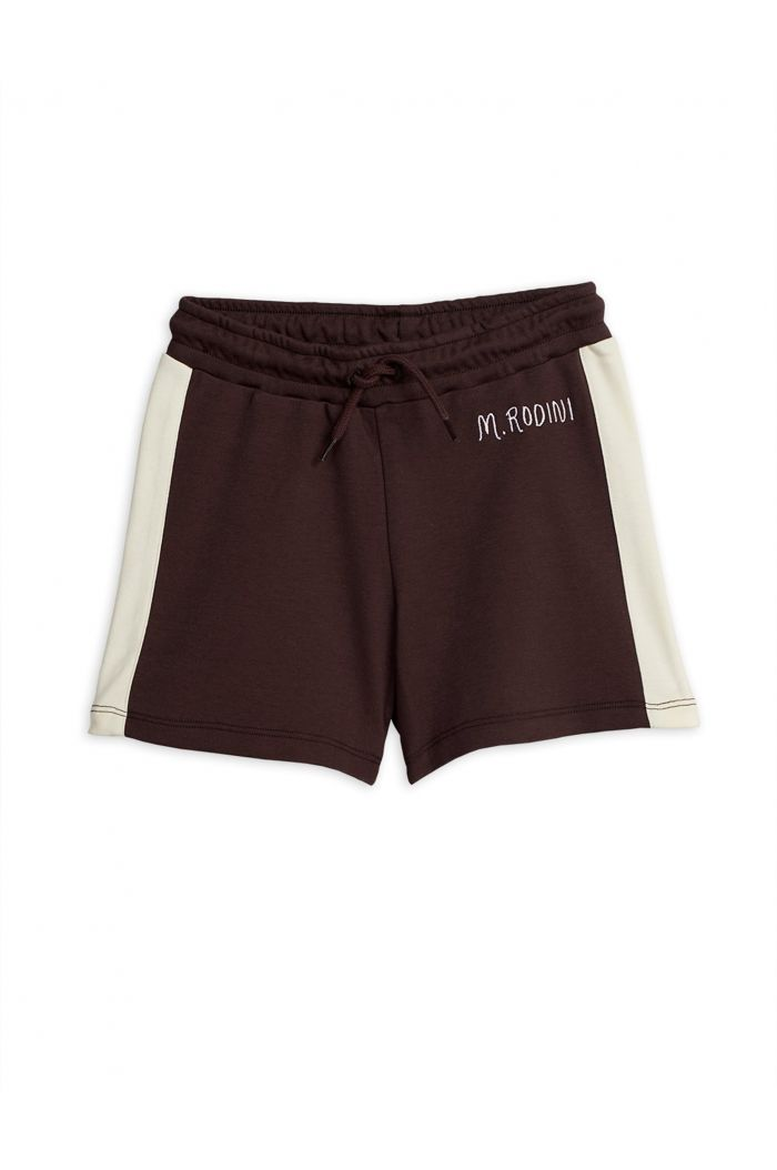 Mini Rodini Rugby shorts -LE- Brown
