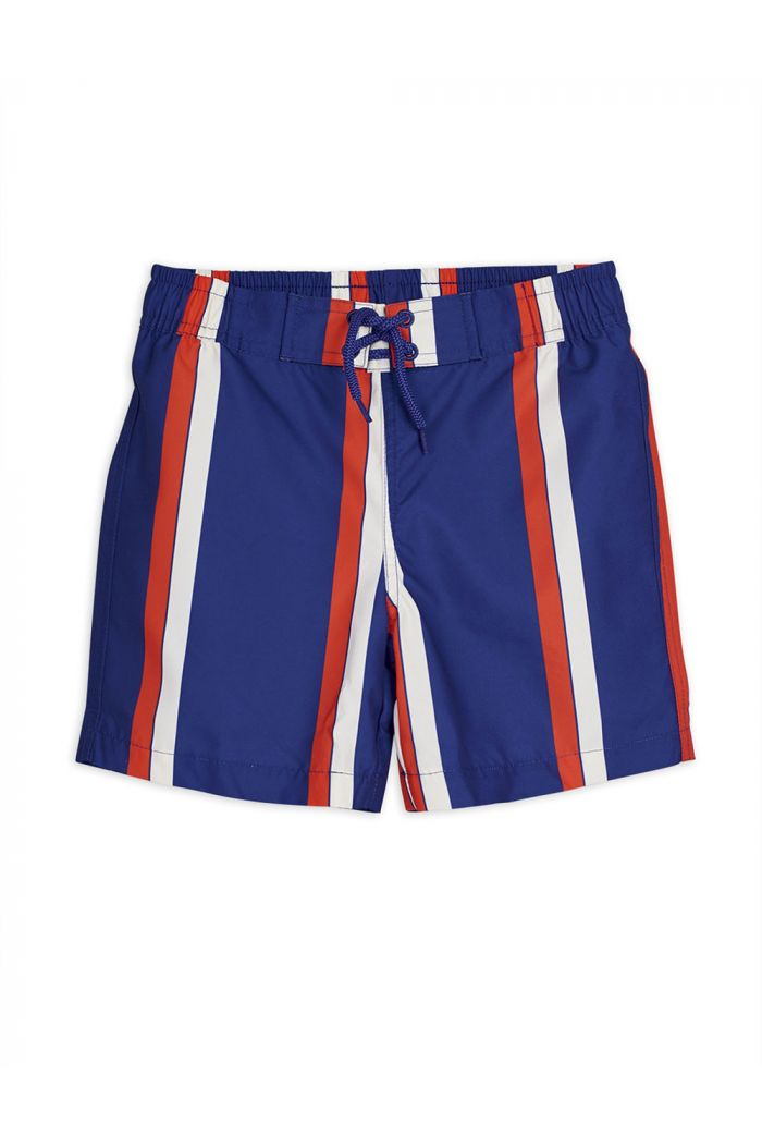 Mini Rodini Stripe swimshorts Blue