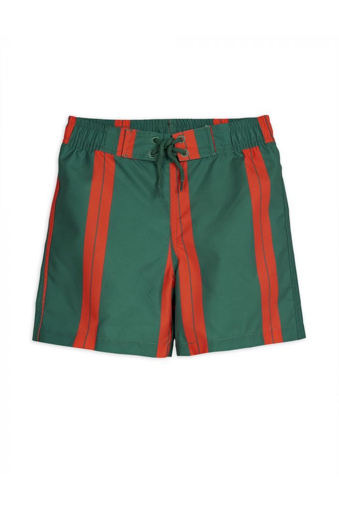 Mini Rodini Stripe swimshorts Green