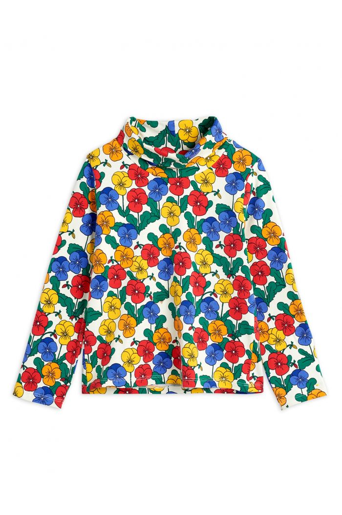 Mini Rodini Violas turtleneck longsleeve tee Multi_1