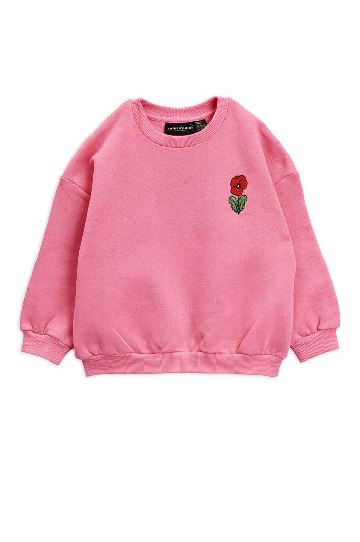 Mini Rodini Viola embroidery sweatshirt Pink_1