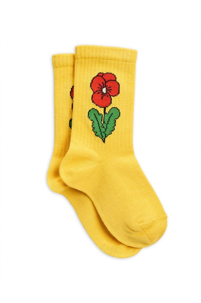 Mini Rodini Viola socks Yellow