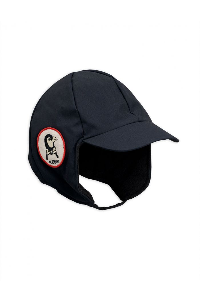 Mini Rodini Alaska Cap Black_1