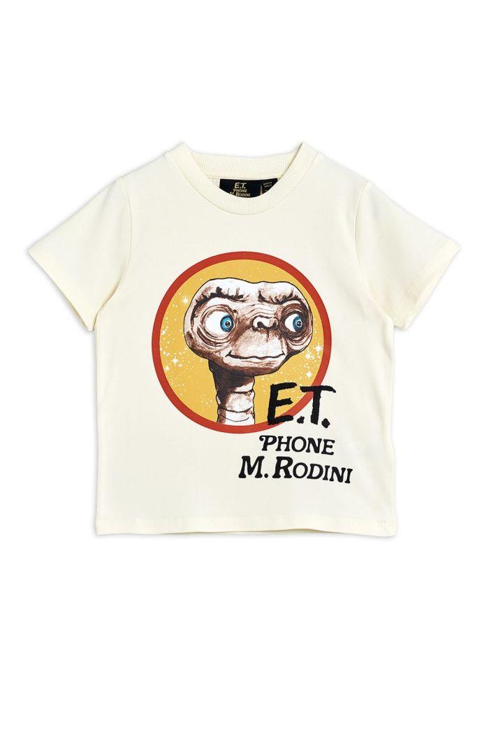 Mini Rodini E.T. single print tee Offwhite_1
