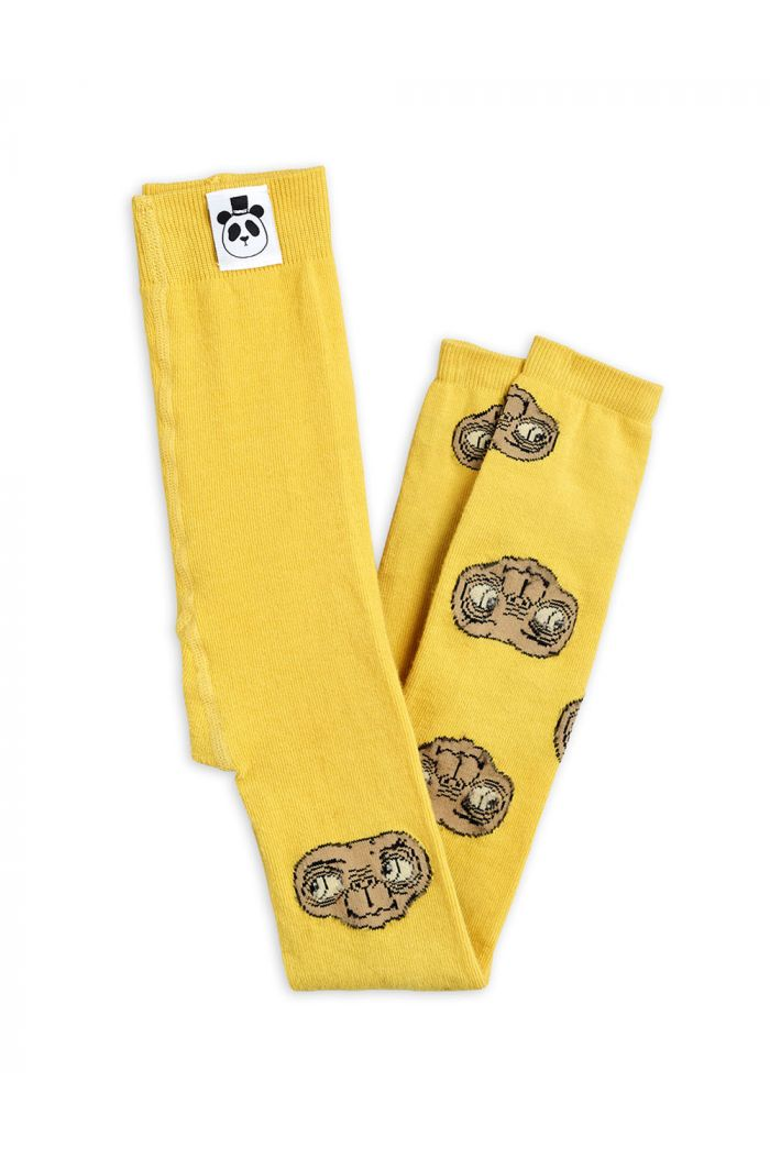 Mini Rodini E.T. leggings Yellow_1