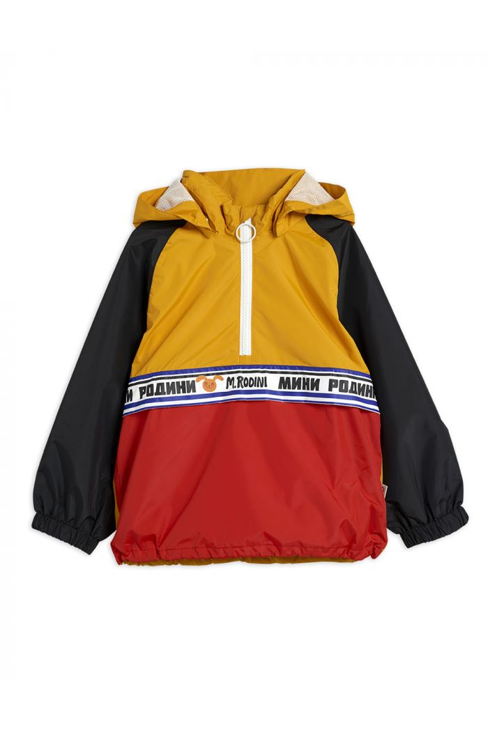 Mini Rodini Windbreaker anorak Yellow_1