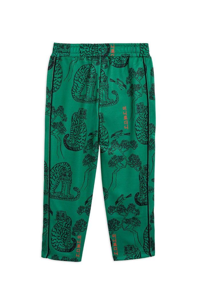 Mini Rodini Tigers waistcoat trousers Green_1