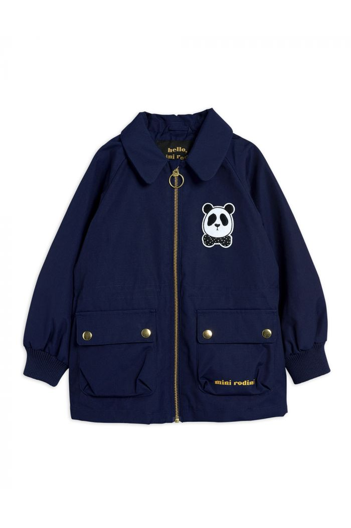 Mini Rodini Panda jacket Navy_1