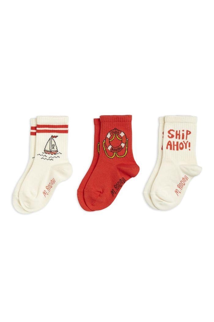 Mini Rodini Float 3-pack socks Multi_1