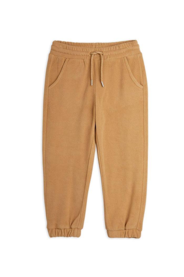 Mini Rodini Fleece trousers Brown_1