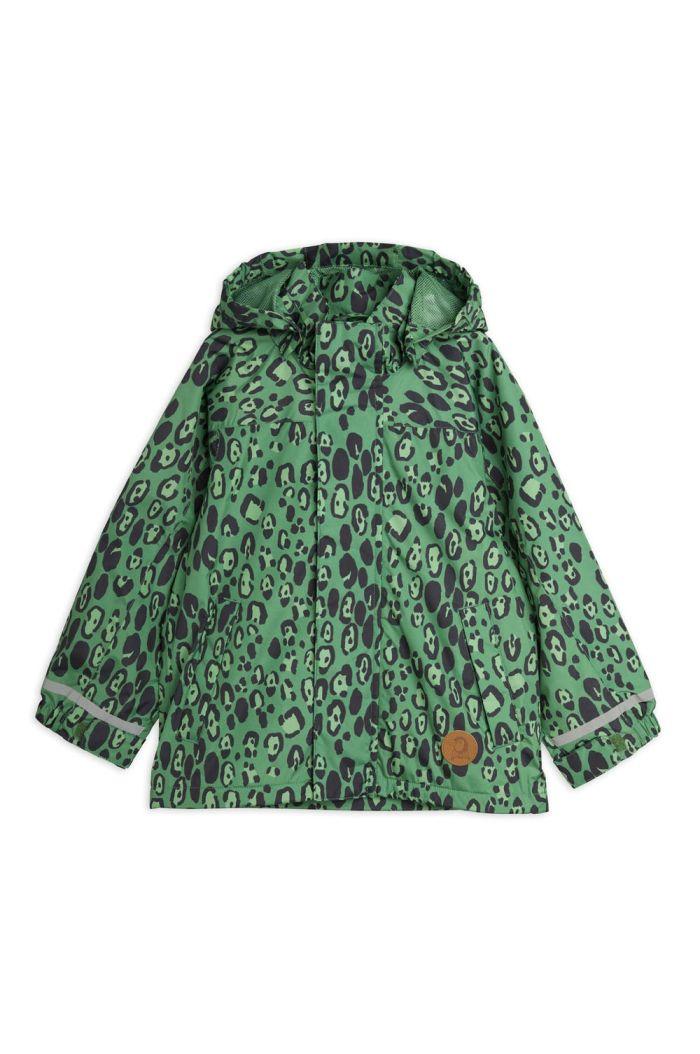 Mini Rodini Edelweiss jacket Green_1