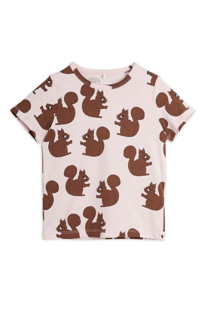 Mini Rodini Squirrel all-over print t-shirt Pink_1