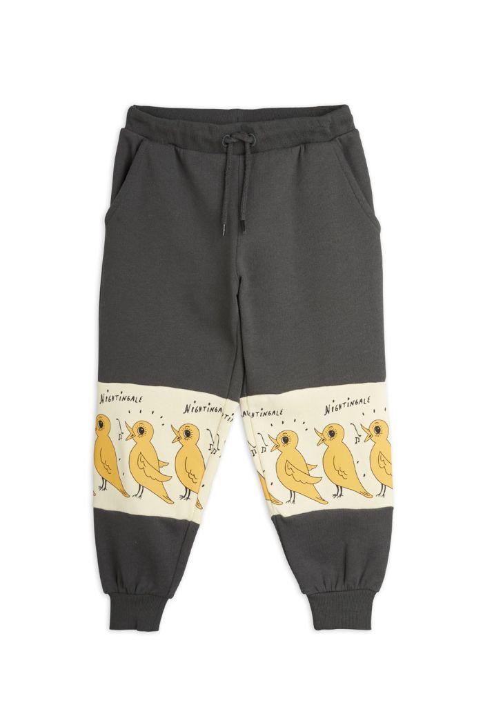 Mini Rodini Nightingale sweatpants Black_1
