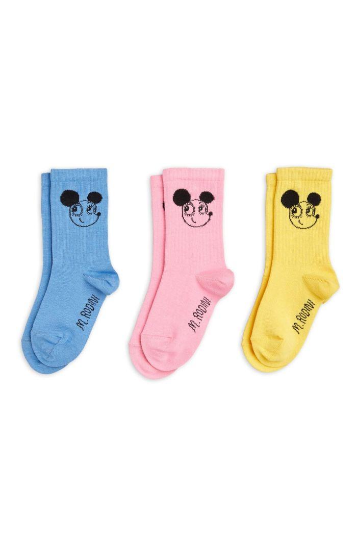 Mini Rodini Ritzratz socks 3-pack Multi_1
