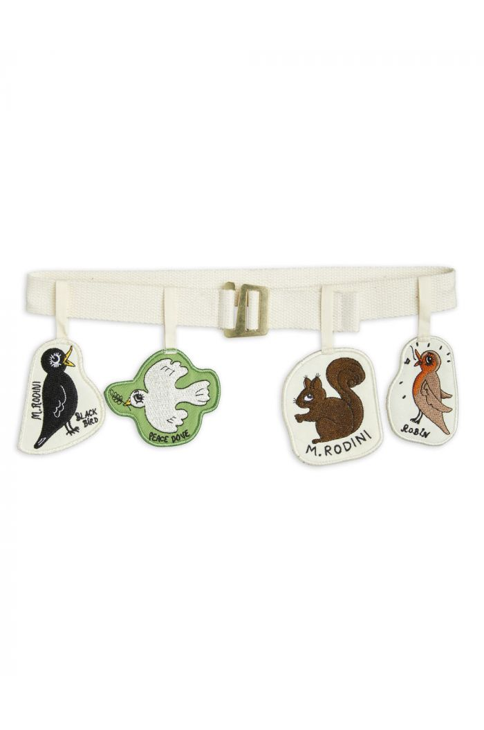 Mini Rodini Garland belt Offwhite_1