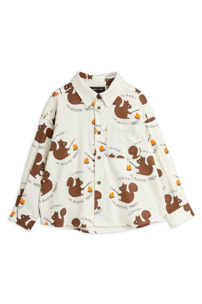 Mini Rodini Flanell shirt Offwhite_1