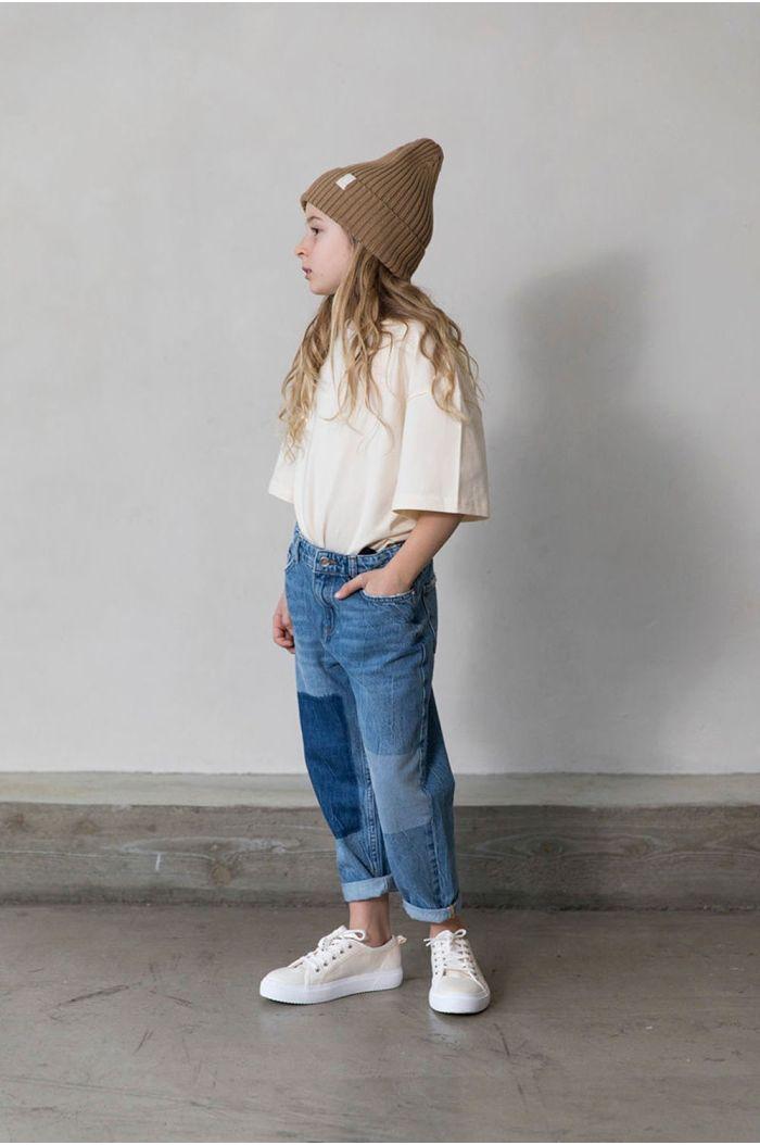 I Dig Denim Triple patch jeans  blue_1
