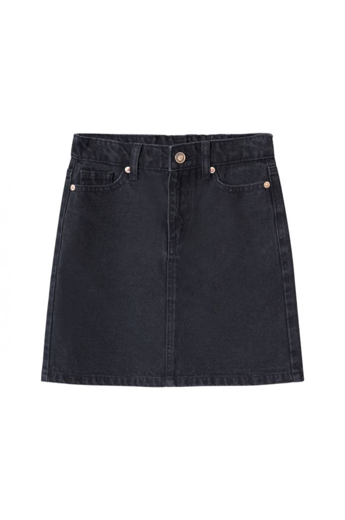 I Dig Denim Doris denim skirt black_1